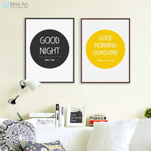 Load image into Gallery viewer, Minimalist Inspire Life Quotes Typography Posters and Prints Nordic Living Room Wall Art Picture Home Decoration Canvas Painting