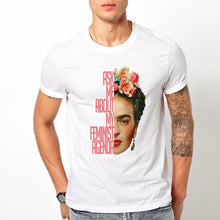 Load image into Gallery viewer, Kahlo Adult t Shirt Male T Shirt Short Sleeve Top