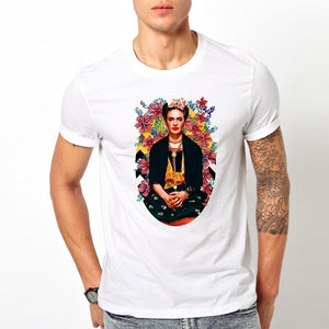 Kahlo Adult t Shirt Male T Shirt Short Sleeve Top