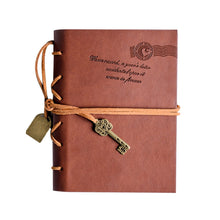 Load image into Gallery viewer, Notebook Leather Classic Vintage String Key Blank Diary Notebook Journal Sketchbook