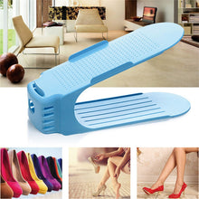Load image into Gallery viewer, Colorful Plastic Shoe Organizer