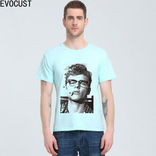 Load image into Gallery viewer, James Dean Live Fast Die Young 1950'S Movie Rebel Rock'N'Roll  t-shirt Cotton Lycra Top T Shirt Men High Quality