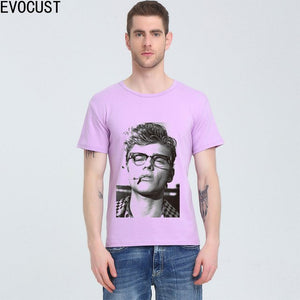 James Dean Live Fast Die Young 1950'S Movie Rebel Rock'N'Roll  t-shirt Cotton Lycra Top T Shirt Men High Quality