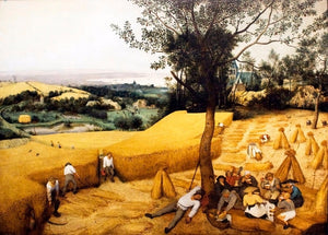 Pieter Bruegel - The Harvesters Hand Painted Reproduction
