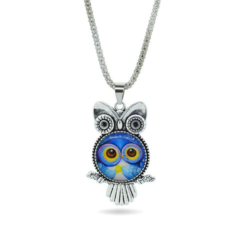 Fashion Owl pendant necklace