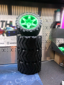 Xmaxx V1 Madmax wheels and tires