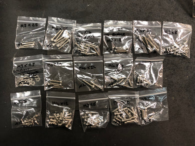 Stainless Steel Screw Set