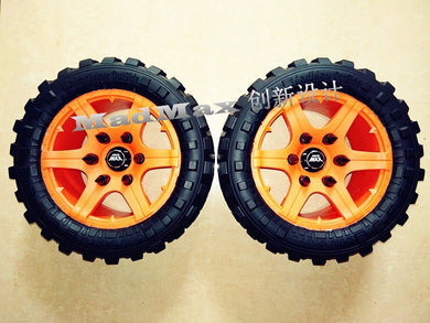 Xmaxx MadMax Land Grippers (orange) Pre-order