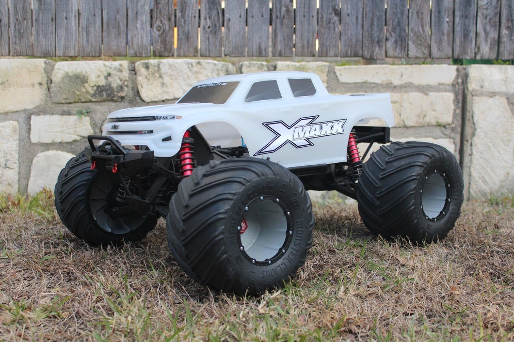V3 Traxxas X-Maxx lights/grill/body DECALS ONLY for V3 Unbreakable / XMAXX Stickers