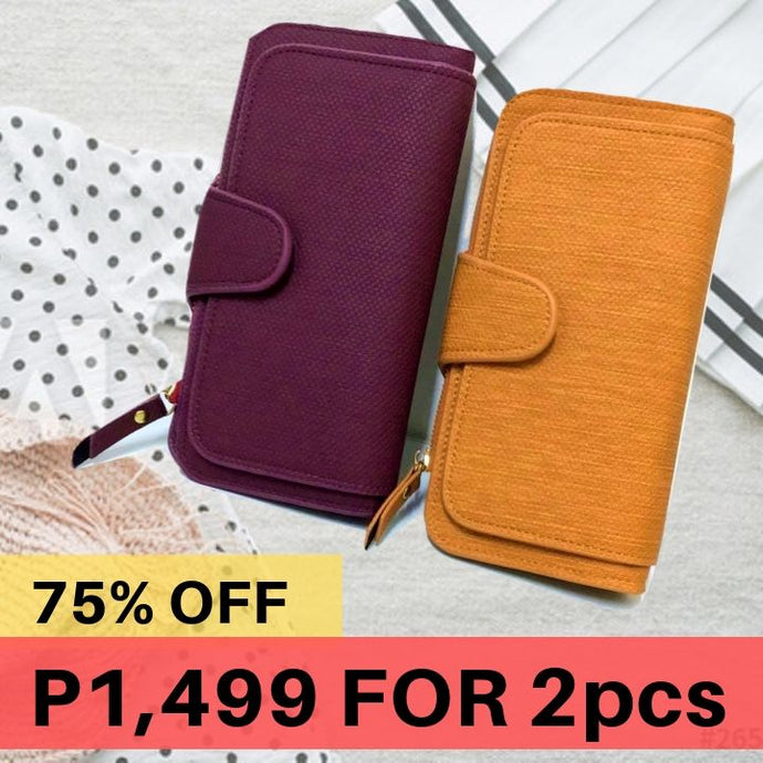 Day Dream Wallet - Korean Style Flexible Leather (75% OFF)
