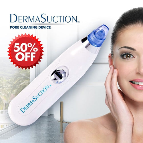 DermaSuction - Cordless and Portable (50% OFF)