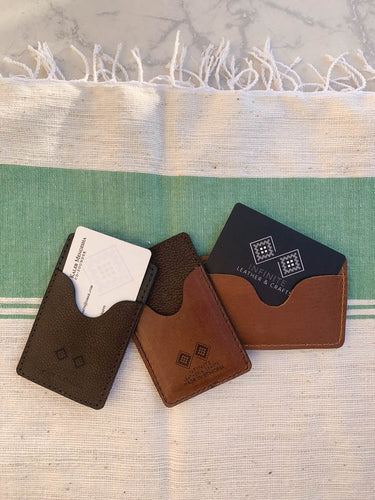 Infinite Leather Card Holder