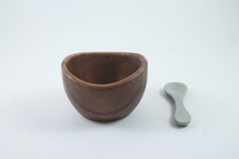 Olive Dipping Bowl and Soapstone Spoon