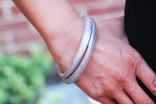 Recycled Aluminum Bangles