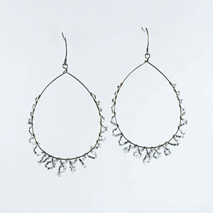 Desert Crystal Drop Earrings