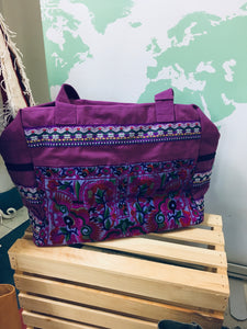 Hmong Batik Retreat Bag