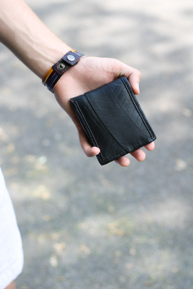 Men's Bifold Recycled Tire Wallet