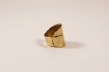 Burnished Brass Ring