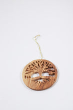 Olive Wood Tree of Life Ornament