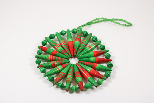 Paper Bead Christmas Ornament
