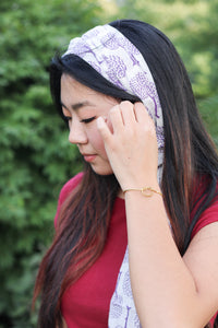 Forget Me Knot Cuff