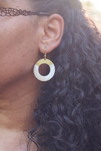 White Kaia Earrings