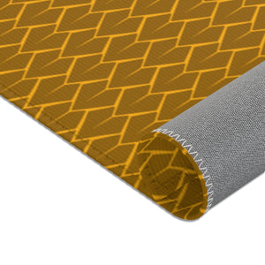 Spear Area Rug (Yellow)