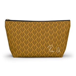 Spear Script Accessory Pouch w T-bottom