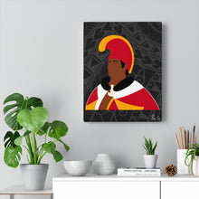 Load image into Gallery viewer, King Kamehameha I Canvas Gallery Wraps (Black)