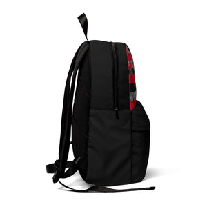 Kanaka Kollection Tribal Flag Unisex Classic Backpack (Gray)