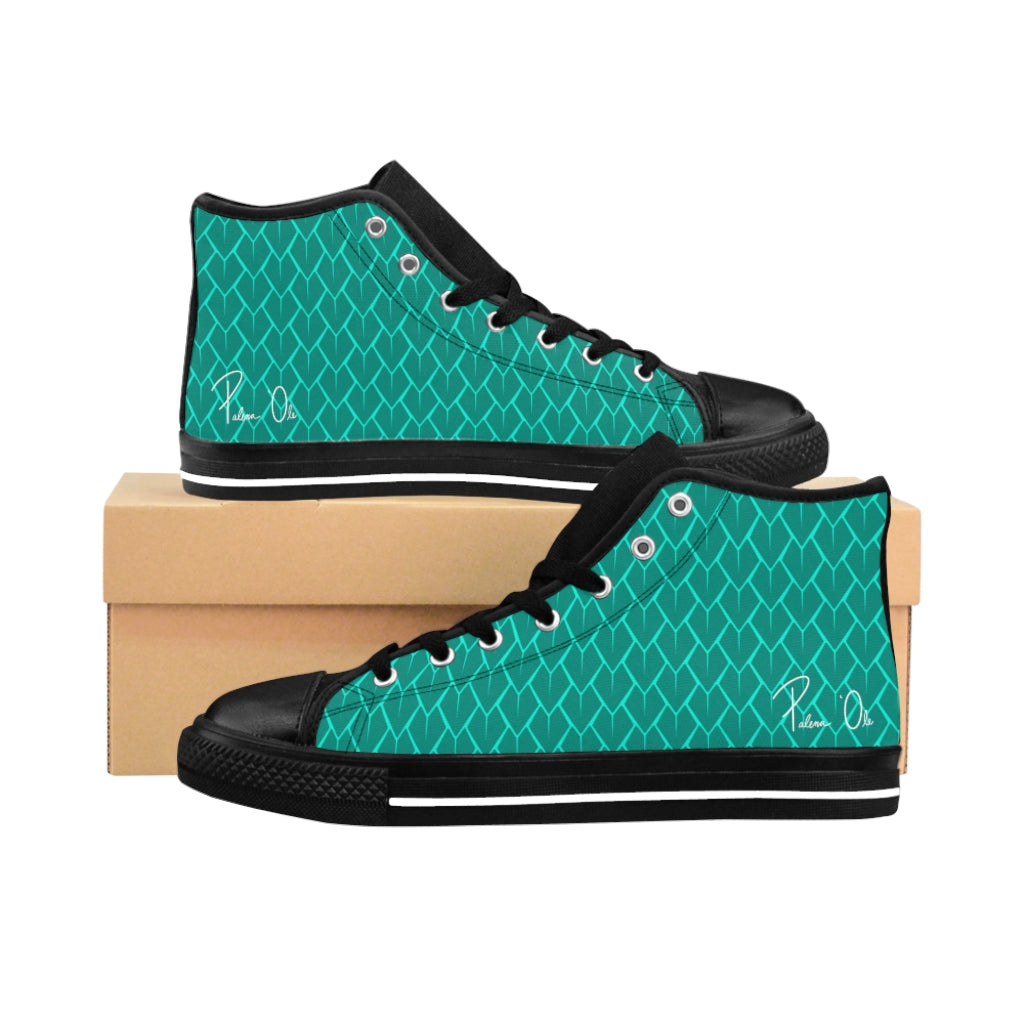 Spear Script Men's High-top Sneakers