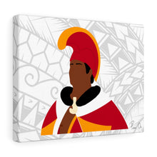 Load image into Gallery viewer, King Kamehameha I Canvas Gallery Wraps (White)