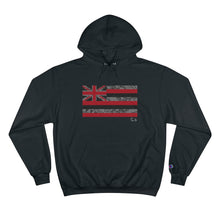 Load image into Gallery viewer, Kanaka Kollection Tribal Flag Champion Hoodie (Gray)