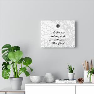 Scripture Canvas Gallery Wraps (White)