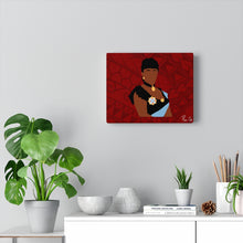 Load image into Gallery viewer, Queen Liliuokalani Canvas Gallery Wraps (Red)