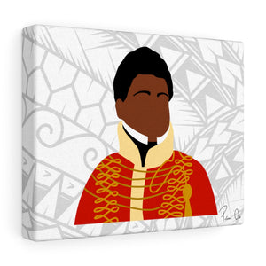 King Kamehameha II Canvas Gallery Wraps (White)