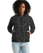Load image into Gallery viewer, Dark Kalo Women's Bomber Jacket (Kalo Bomber)