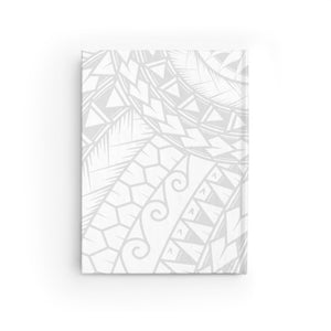 Tribal King Kamehameha I Journal - Ruled Line (White)