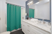 Load image into Gallery viewer, Spear Shower Curtain (Teal)