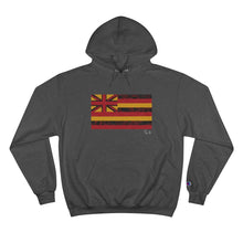 Load image into Gallery viewer, Kanaka Kollection Tribal Flag Champion Hoodie (Red)