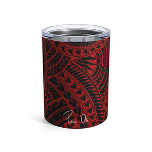 Tribal Tumbler Cup 10oz (Red)