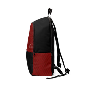 Spear Script Unisex Fabric Backpack