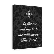 Load image into Gallery viewer, Scripture Canvas Gallery Wraps (Black)