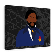 Load image into Gallery viewer, King Kamehameha III Canvas Gallery Wraps (Black)