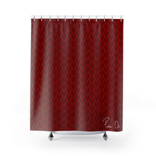Load image into Gallery viewer, Spear Shower Curtain (Red)
