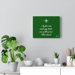 Scripture Canvas Gallery Wraps (Green)