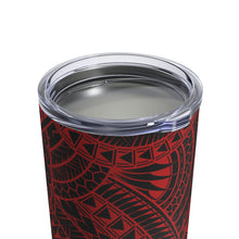Load image into Gallery viewer, Tribal Tumbler Cup 10oz (Red)
