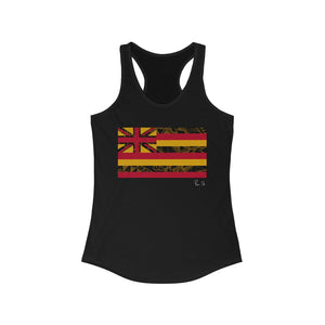 Kanaka Kollection Tribal Flag Racerback Tank (Yellow)