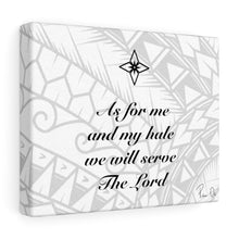 Load image into Gallery viewer, Scripture Canvas Gallery Wraps (White)
