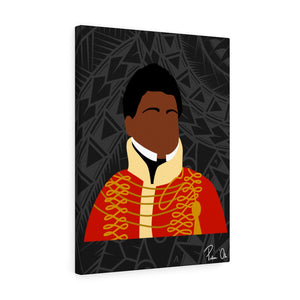 King Kamehameha II Canvas Gallery Wraps (Black)